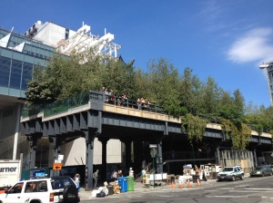 The start/end of the High line