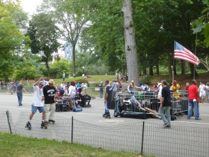 Dancing on Roller-skates@ Central Park